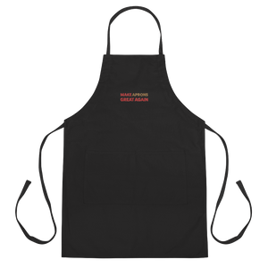 Make Aprons Great Again Apron | Black Or White