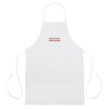 Load image into Gallery viewer, Make Aprons Great Again Apron | Black Or White