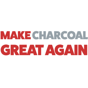Make Charcoal Great Again Apron | White Or Black