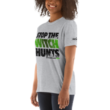 Load image into Gallery viewer, Stop The Political Witch Hunts T-Shirt | Light Colors