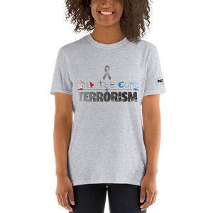 Find The Cure T-Shirt | Terrorism | Light Colors