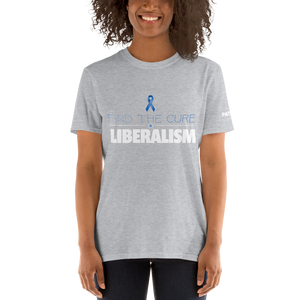 Find The Cure T-Shirt | Liberalism | Dark Colors