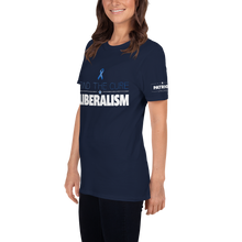 Load image into Gallery viewer, Find The Cure T-Shirt | Liberalism | Dark Colors