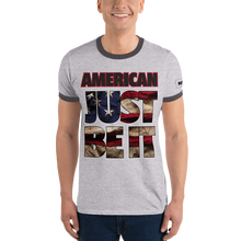 Load image into Gallery viewer, American Ringer T-Shirt | Just Be It | Various Colors