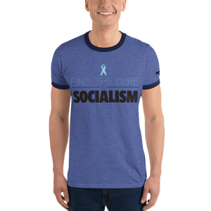 Find The Cure Ringer T-Shirt | Socialism | Various Colors