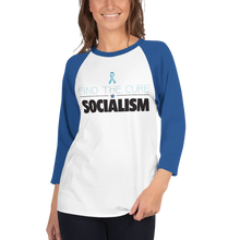 Load image into Gallery viewer, Find The Cure Raglan Jersey T-Shirt | Socialism | Various Colors