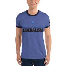 Load image into Gallery viewer, Find The Cure Ringer T-Shirt | Liberalism | Various Colors