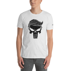 Trump Punisher T-Shirt | Blacked Out | Light Colors