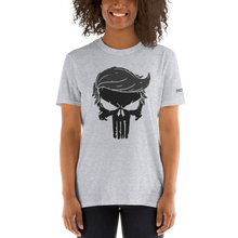 Load image into Gallery viewer, Trump Punisher T-Shirt | Blacked Out | Light Colors