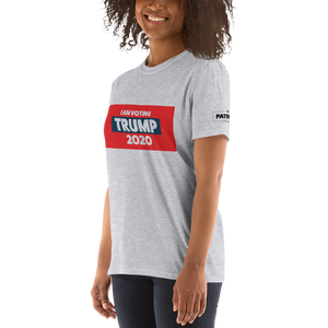 I Am Voting Trump 2020 T-Shirt | Light Colors