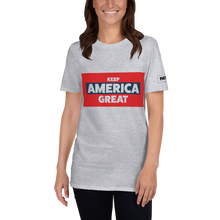 Load image into Gallery viewer, Keep America Great T-Shirt | Trump | Light Colors