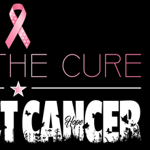 Load image into Gallery viewer, Find The Cure T-Shirt | Breast Cancer | Dark Colors