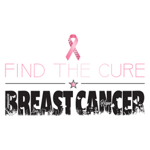 Load image into Gallery viewer, Find The Cure T-Shirt | Breast Cancer | Light Colors