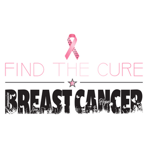Find The Cure T-Shirt | Breast Cancer | Light Colors