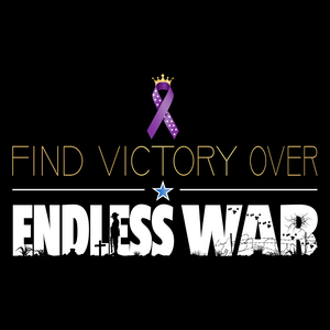 Find Victory Over Endless War T-Shirt | Dark Colors