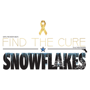 Find The Cure T-Shirt | Triggered Snowflakes  | Light Colors