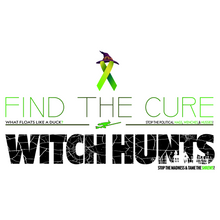 Load image into Gallery viewer, Find The Cure T-Shirt | Political Witch Hunts | Light Colors