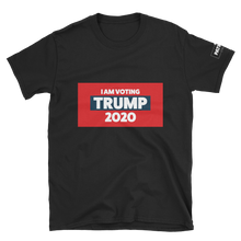 Load image into Gallery viewer, I Am Voting Trump 2020 T-Shirt | Dark Colors