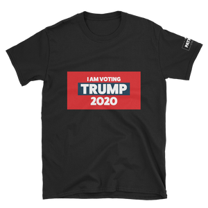 I Am Voting Trump 2020 T-Shirt | Dark Colors