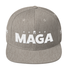 Load image into Gallery viewer, Ultimate MAGA Hat 3D Puff Embroidered In Red | Various Colors