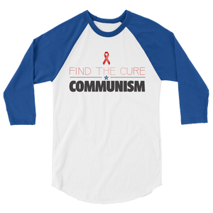 Find the Cure Raglan Jersey T-Shirt | Communism | Various Colors