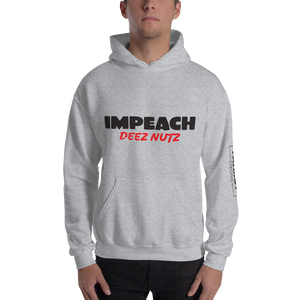 Impeach Deez Nuts Anti Trump Impeachment Hoodie | Light Colors