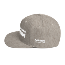 Load image into Gallery viewer, Make Patriotism O.K. Again Hat | White Embroidery On Various Colors