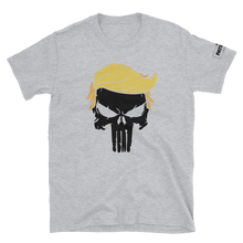 Load image into Gallery viewer, Trump Punisher T-Shirt | Solid Skull | Light Colors