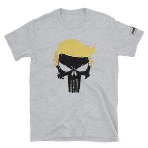 Trump Punisher T-Shirt | Solid Skull | Light Colors