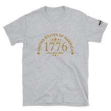 Load image into Gallery viewer, United Stated of America T-Shirt | Est. 1776 | Light Colors