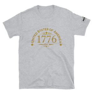United Stated of America T-Shirt | Est. 1776 | Light Colors