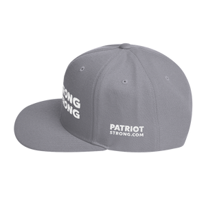 Stand Strong Patriot Strong Hat | White Embroidery On Various Colors