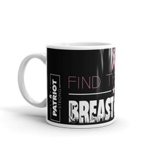 Load image into Gallery viewer, Cure Breast Cancer Mug | Find The Cure Breast Cancer Coffee Mug | Dark Color