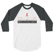 Load image into Gallery viewer, Find the Cure Raglan Jersey T-Shirt | Communism | Various Colors