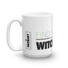Load image into Gallery viewer, Anti Political Witch Hunt Mug | Find The Cure Witch Hunts Coffee Mug | Light Color