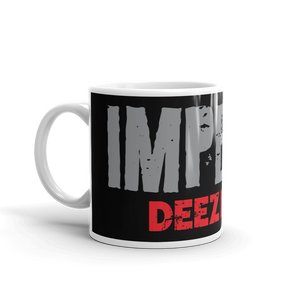 Pro Trump Impeachment Protest Coffee Mug | Impeach Deez Nuts Anti-Impeachment #1 | Dark Color Mug