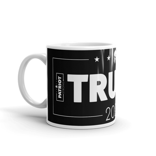 Trump 2020 Mug | 2020 Pro Trump Election Coffee Mug | Dark Color