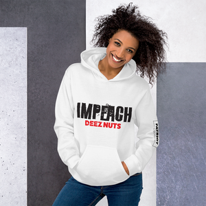 Impeachment Inquiry Hoodie | Impeach DEEZ NUTS | Anti Impeachment | Light Colors