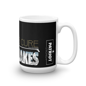 Cure Snowflakes Mug | Find The Cure Snowflakes Coffee Mug | Dark Color