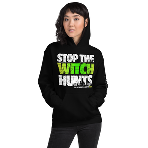 Stop Political Witch Hunts Hoodies | Dark Colors