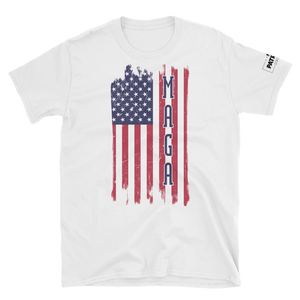 United States American Flag M.A.G.A. T-Shirt | Light Colors