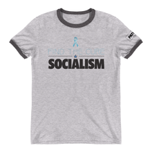 Load image into Gallery viewer, Find The Cure Ringer T-Shirt | Socialism | Various Colors