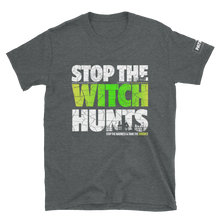 Load image into Gallery viewer, Stop The Political Witch Hunts T-Shirt | Dark Colors
