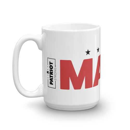MAGA Mug | Make America Great Coffee Mug | Light Color