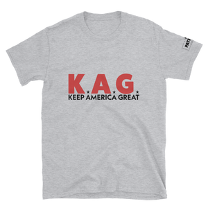 K.A.G. T-Shirt | Keep America Great | Light Colors