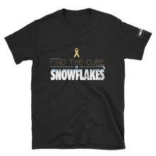 Load image into Gallery viewer, Find The Cure T-Shirt | Triggered Snowflakes  | Dark Colors