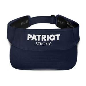 Patriot Strong Embroidered Visor | Dark Colors