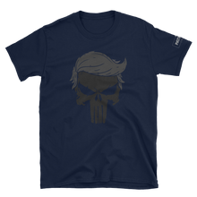 Load image into Gallery viewer, Trump Punisher T-Shirt | Blacked Out | Dark Colors