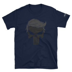 Trump Punisher T-Shirt | Blacked Out | Dark Colors
