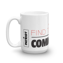 Load image into Gallery viewer, Anti Communist Coffee Mug | Find The Cure Communism Mug | Light Color